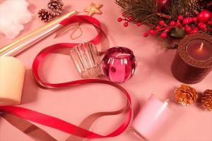キャンドルのある楽しいクリスマス♪