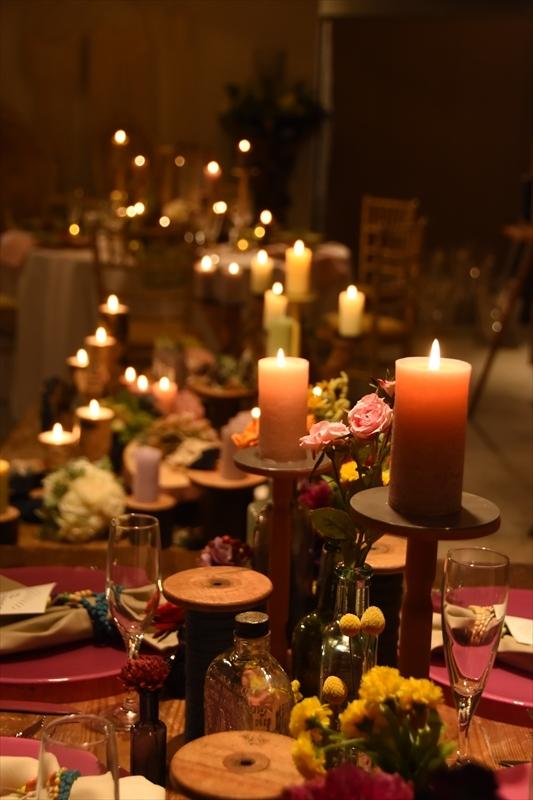 新郎新婦様に伝えたい!結婚式、披露宴でキャンドルを使う理由