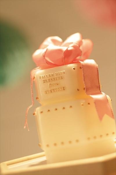 新商品 メッセージキャンドルツリー「プリンセス」