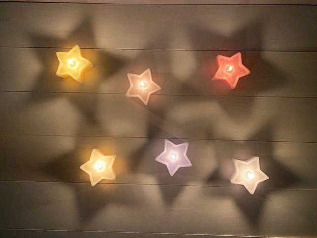 新発売!星型キャンドル「Wistar」(ウィスター)