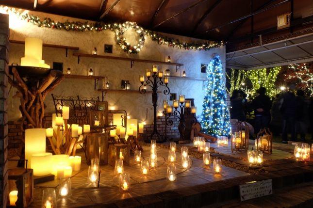ハーブ庭園 旅日記様 クリスマスイルミネーション2018