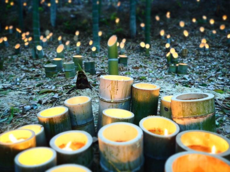 【イベント】4/7、第11回竹灯籠まつりが開催されました。