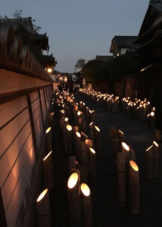 【イベント】大分県臼杵市で「うすき竹宵」が開催されました。