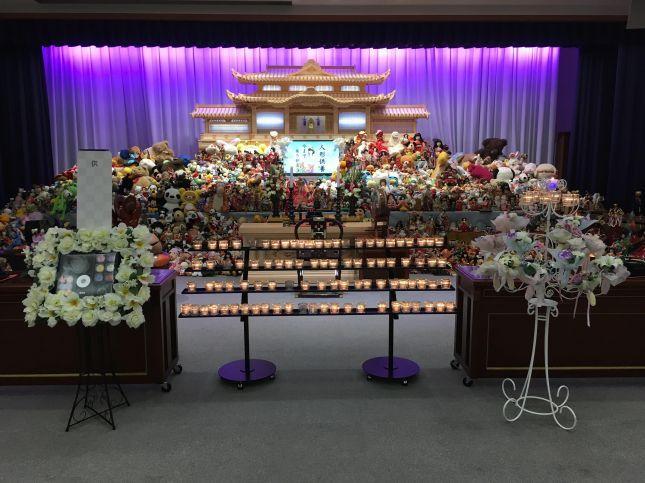 【神仏実績・実例】感謝の気持ちを献灯で献ぐ「人形供養祭」