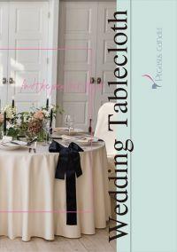 【新カタログ】 クロス商品「Wedding Tablecloth」発行